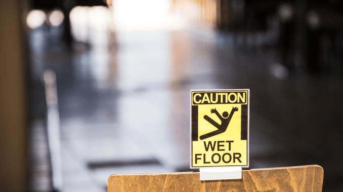 CautionWetFloor