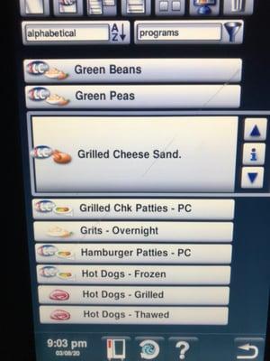 Cooking Programs