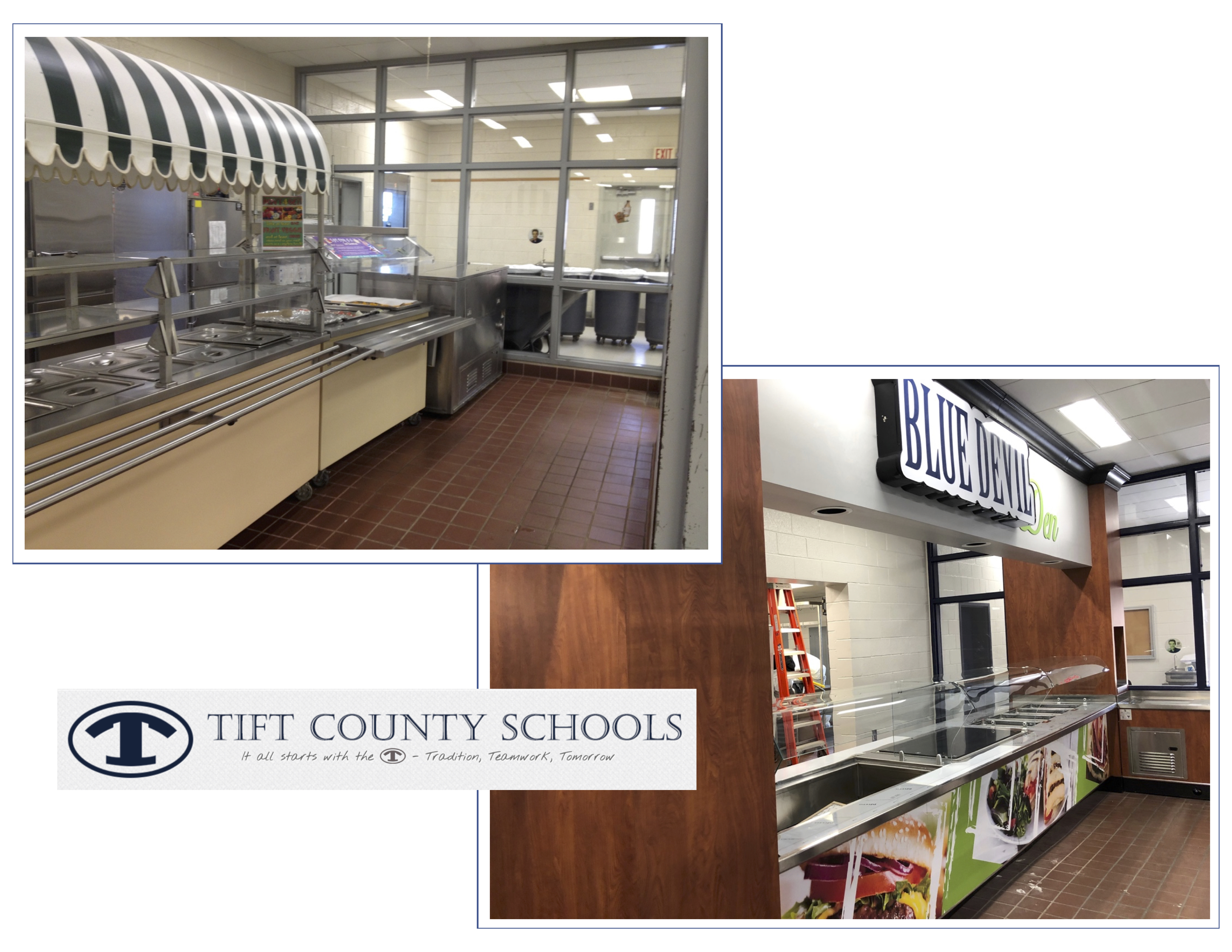 Tift County before & after